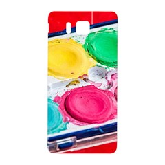 Palette Brush Paint Box Color Samsung Galaxy Alpha Hardshell Back Case by Celenk