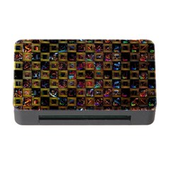 Kaleidoscope Pattern Abstract Art Memory Card Reader With Cf by Celenk