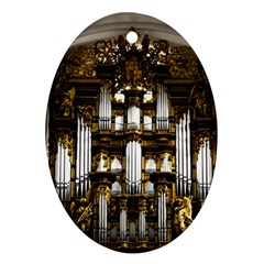 Organ Church Music Organ Whistle Ornament (oval)