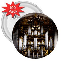 Organ Church Music Organ Whistle 3  Buttons (100 Pack)  by Celenk