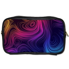 Abstract Pattern Art Wallpaper Toiletries Bags by Celenk
