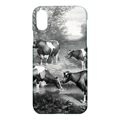 Holstein Fresian Cows Fresian Cows Apple Iphone X Hardshell Case