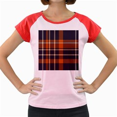 Abstract Background Pattern Textile 6 Women s Cap Sleeve T Shirt