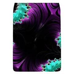 Fractals Spirals Black Colorful Flap Covers (s)