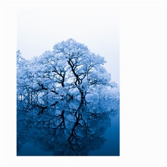 Nature Inspiration Trees Blue Large Garden Flag (two Sides) by Celenk