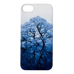 Nature Inspiration Trees Blue Apple Iphone 5s/ Se Hardshell Case by Celenk