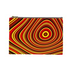 Fractal Art Mathematics Generated Cosmetic Bag (large)