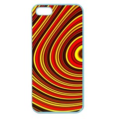 Fractal Art Mathematics Generated Apple Seamless Iphone 5 Case (color) by Celenk