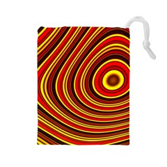 Fractal Art Mathematics Generated Drawstring Pouches (large)