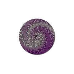Graphic Abstract Lines Wave Art Golf Ball Marker (4 Pack)
