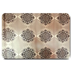 Flower Pattern Pattern Art Large Doormat