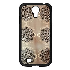 Flower Pattern Pattern Art Samsung Galaxy S4 I9500/ I9505 Case (black)