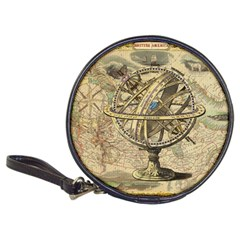 Map Compass Nautical Vintage Classic 20 Cd Wallets