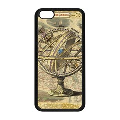 Map Compass Nautical Vintage Apple Iphone 5c Seamless Case (black) by Celenk