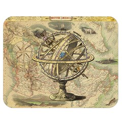 Map Compass Nautical Vintage Double Sided Flano Blanket (medium)  by Celenk