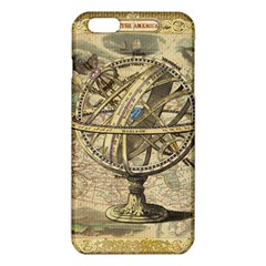 Map Compass Nautical Vintage Iphone 6 Plus/6s Plus Tpu Case by Celenk