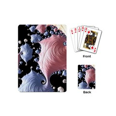 Fractal Art Design Fantasy Science Playing Cards (mini)  by Celenk