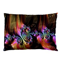Fractal Colorful Background Pillow Case (two Sides)