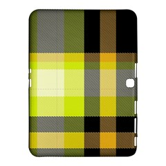 Tartan Abstract Background Pattern Textile 5 Samsung Galaxy Tab 4 (10 1 ) Hardshell Case  by Celenk