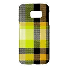 Tartan Abstract Background Pattern Textile 5 Samsung Galaxy S7 Hardshell Case  by Celenk