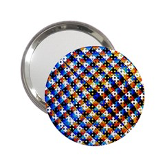 Kaleidoscope Pattern Ornament 2 25  Handbag Mirrors