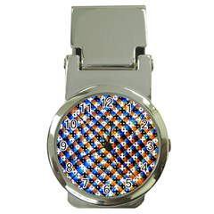 Kaleidoscope Pattern Ornament Money Clip Watches by Celenk
