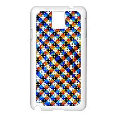 Kaleidoscope Pattern Ornament Samsung Galaxy Note 3 N9005 Case (white)