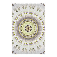 Mandala Fractal Decorative Shower Curtain 48  X 72  (small)