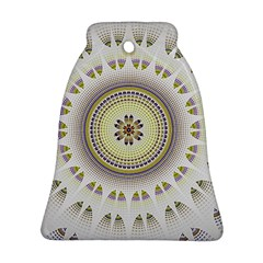 Mandala Fractal Decorative Bell Ornament (two Sides) by Celenk