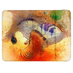Dirty Dirt Image Spiral Wave Samsung Galaxy Tab 7  P1000 Flip Case by Celenk