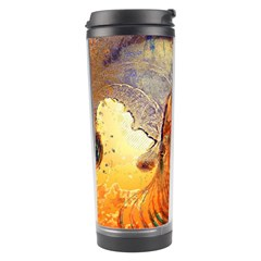 Dirty Dirt Image Spiral Wave Travel Tumbler by Celenk