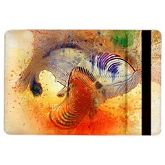 Dirty Dirt Image Spiral Wave Ipad Air 2 Flip by Celenk