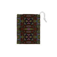 Pattern Abstract Art Decoration Drawstring Pouches (xs)  by Celenk