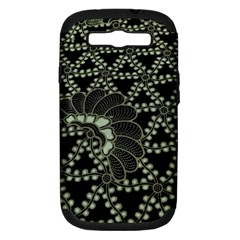 Batik Traditional Heritage Indonesia Samsung Galaxy S Iii Hardshell Case (pc+silicone) by Celenk