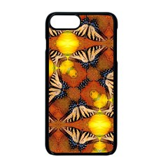 Dancing Butterfly Kaleidoscope Apple Iphone 8 Plus Seamless Case (black) by Celenk