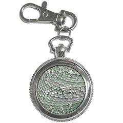 Art Design Style Decorative Key Chain Watches by Celenk