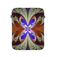 Fractal Splits Silver Gold Apple Ipad 2/3/4 Protective Soft Cases by Celenk