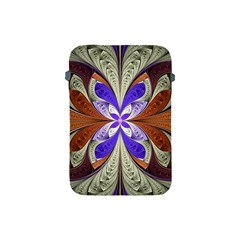 Fractal Splits Silver Gold Apple Ipad Mini Protective Soft Cases by Celenk
