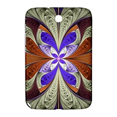 Fractal Splits Silver Gold Samsung Galaxy Note 8 0 N5100 Hardshell Case  by Celenk