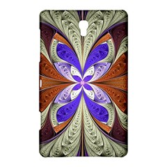 Fractal Splits Silver Gold Samsung Galaxy Tab S (8 4 ) Hardshell Case  by Celenk