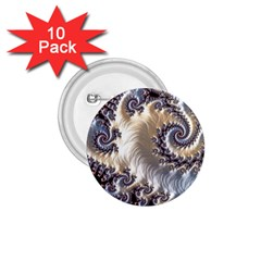 Fractal Art Design Fantasy 3d 1 75  Buttons (10 Pack)