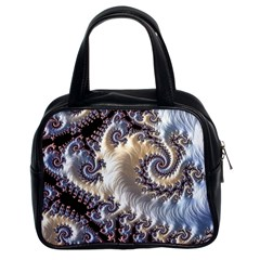 Fractal Art Design Fantasy 3d Classic Handbags (2 Sides) by Celenk