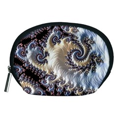 Fractal Art Design Fantasy 3d Accessory Pouches (medium)