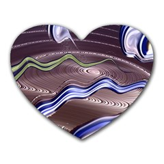 Art Design Decoration Card Color Heart Mousepads