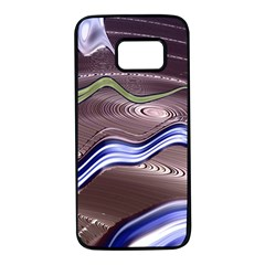 Art Design Decoration Card Color Samsung Galaxy S7 Black Seamless Case by Celenk