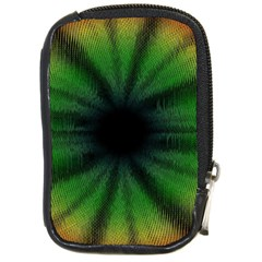 Sunflower Digital Flower Black Hole Compact Camera Cases by Celenk