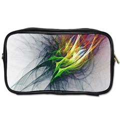 Fractal Art Paint Pattern Texture Toiletries Bags 2 Side