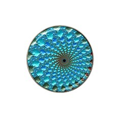 Fractal Art Design Pattern Hat Clip Ball Marker