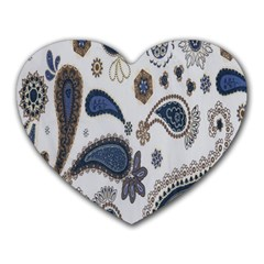 Pattern Embroidery Fabric Sew Heart Mousepads