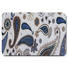 Pattern Embroidery Fabric Sew Large Doormat